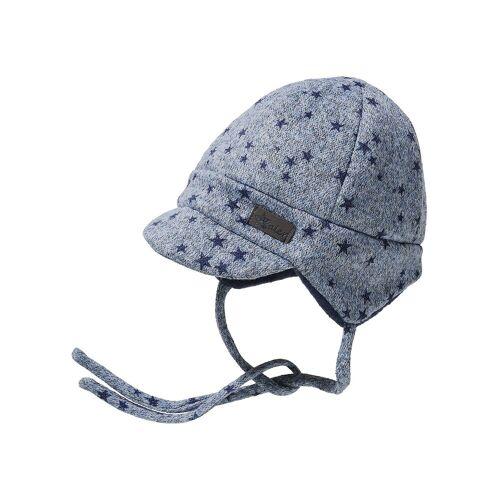 Sterntaler® Schirmmuetze für Jungen, blau
