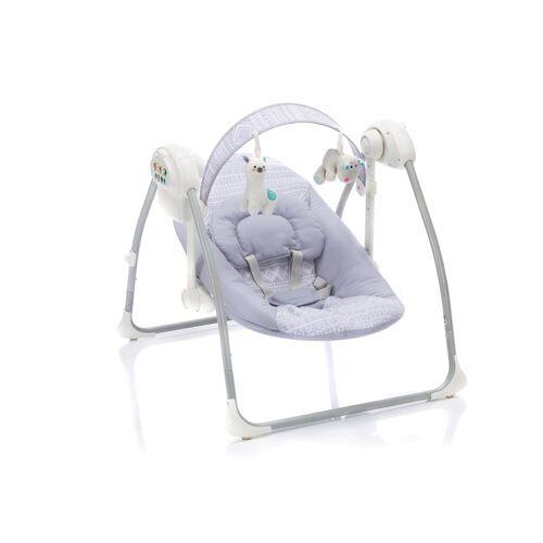 Fillikid Babywippe »Flippi,grau«, elektrisch