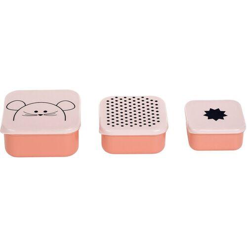 Lässig Brotschale »Brotdose Kätzchen, weiß«, rosa