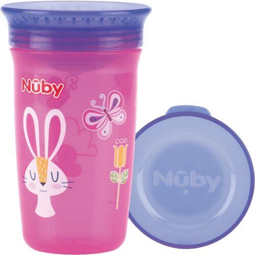 "Nuby Trinklernbecher »360° Trinklernbecher ""WONDER CUP"", 300 ml, Pink«"