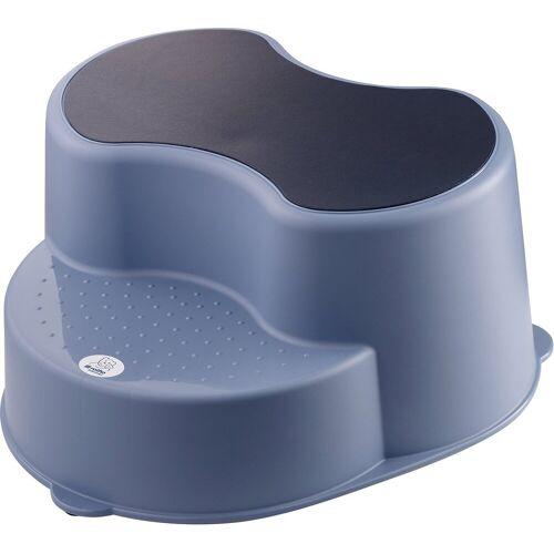 rotho babydesign Tritthocker »Top Kinderschemel, stone grey«, blau
