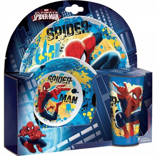 Spiderman Kindergeschirr-Set »Kindergeschirr Spider-Man, 3-tlg.«