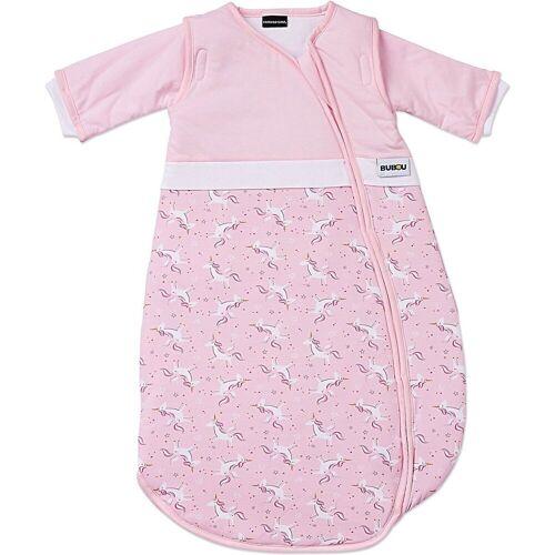 Gesslein Babyschlafsack »Schlafsack Bubou, grau/Dino, Gr. 90 cm«, rosa