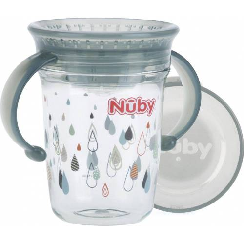 Nuby Becher, grau
