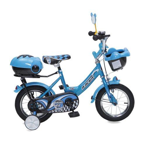 Byox Kinderfahrrad »Kinderfahrrad 12 Zoll 1282«, 1 Gang 1 Gang, keine, Stützräder, Fahrradklingel, Korb, Spiegel