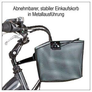 Didi THURAU Edition E-Bike »Alu City Comfort«, 3 Gang Shimano, Nabenschaltung, Frontmotor 250 W, (mit Schloss)
