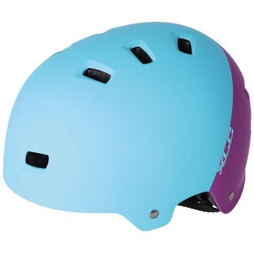 XLC Fahrradhelm »BH-C22«, türkis/lila   türkis-violett