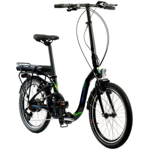 LLobe E-Bike »E-Bike Devron City 20 Zoll 250 W 7-Gang-Kettenschaltung LCD Display«, 7 Gang, Kettenschaltung, 250 W