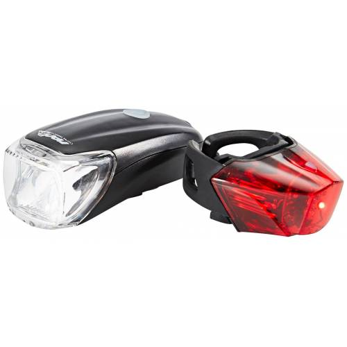 Red Cycling Products Fahrradbeleuchtung »Power LED USB Beleuchtungsset«
