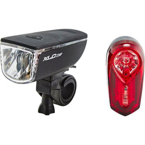 XLC Fahrradbeleuchtung »Comp Ariel/Neso CL-S11 Bleuchtungsset«