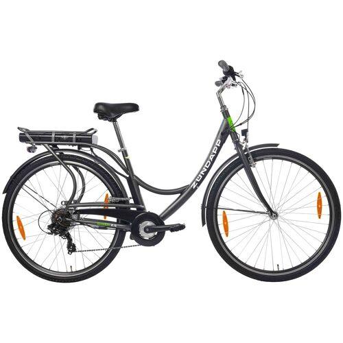 Zündapp ZÜNDAPP E-Bike City »Green 2.5«, 28 Zoll, 7 Gang, Heckmotor, 316,8 Wh, schwarz