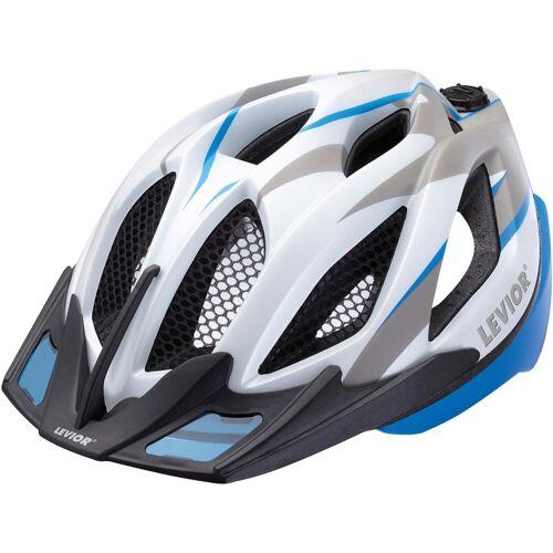 Levior Fahrradhelm »Spiri Two«, blau grau matt   blau-grau