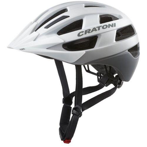 Cratoni Fahrradhelm »City-Fahrradhelm Velo-X«, weiß matt   weiß