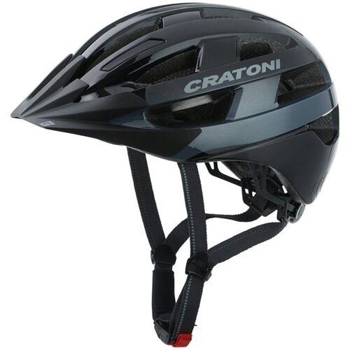 Cratoni Fahrradhelm »City-Fahrradhelm Velo-X«, schwarz glanz   schwarz