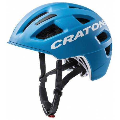 Cratoni Fahrradhelm »City-Fahrradhelm C-Pure«, blau matt   blau