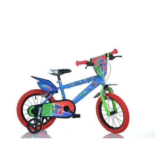 """Dino BIkes Kinderfahrrad »14"""" Pj Masks Kinderfahrrad Jungenfahrrad 14 Zoll Kinderrad mit Stützrädern«, 1 Gang, Keine Schaltung"""
