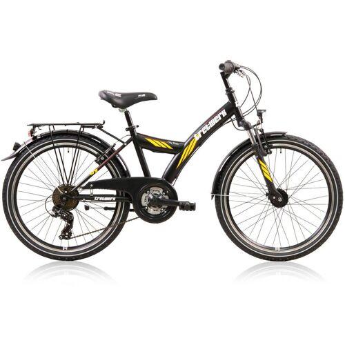 Tretwerk Jugendfahrrad »City Rider«, 21 Gang Shimano Tourney Schaltwerk, Kettenschaltung