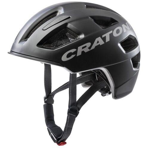 Cratoni Fahrradhelm »City-Fahrradhelm C-Pure«, schwarz matt   schwarz