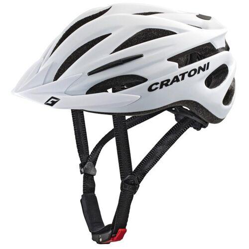 Cratoni Mountainbikehelm »MTB-Fahrradhelm Pacer«, weiß matt   weiß