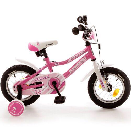 Bachtenkirch Kinderfahrrad »Kawasaki Pink 12 Zoll«, Rücktrittbremse