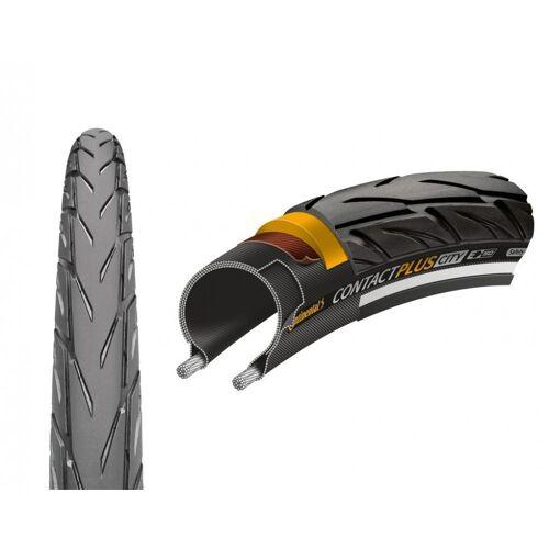 CONTINENTAL Fahrradreifen »Reifen Conti Contact Plus City Draht 27.5x2.20' 55«