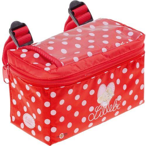 Bike Fashion Fahrradtasche »Prinzessin Lillifee Lenkertasche«, rot