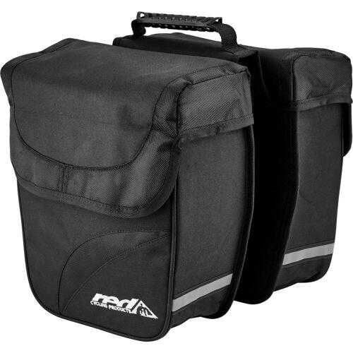 Red Cycling Products Gepäckträgertasche »Double City Bag Gepäckträgertasche«
