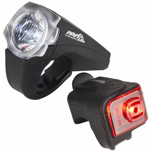 Red Cycling Products Fahrradbeleuchtung »PRO 25 Lux Urban LED Beleuchtungsset«