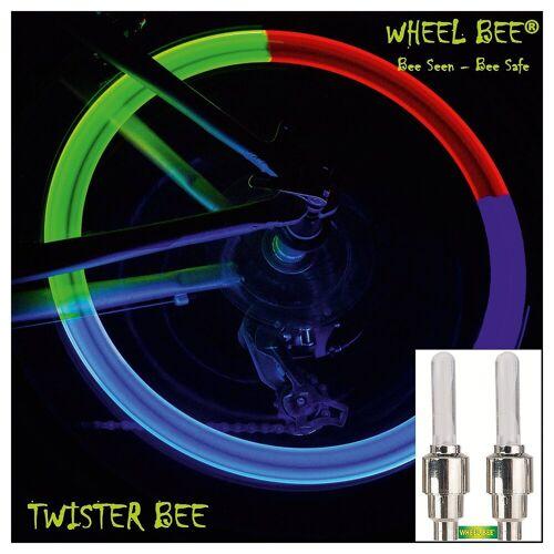 Wheel-Bee LED Ventilkappen, bunt