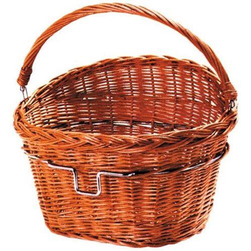 KlickFix Fahrradkorb »Vorderradkorb Weidenkorb«