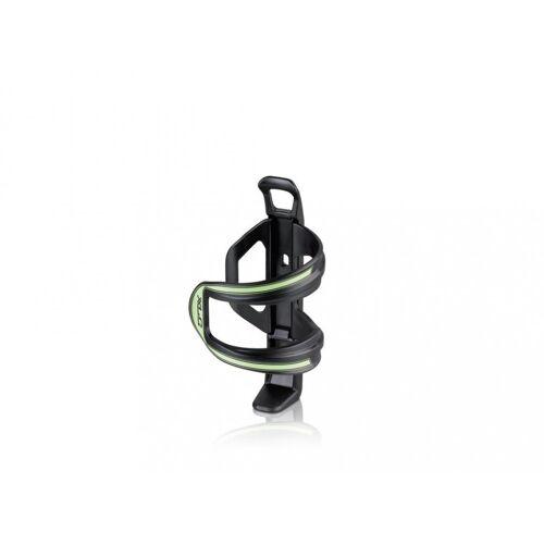 XLC Fahrrad-Flaschenhalter »Flaschenhalter Sidecage schwarz/grün«