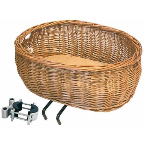 "Basil Fahrradkorb »Weidenkorb ""Pluto""«"