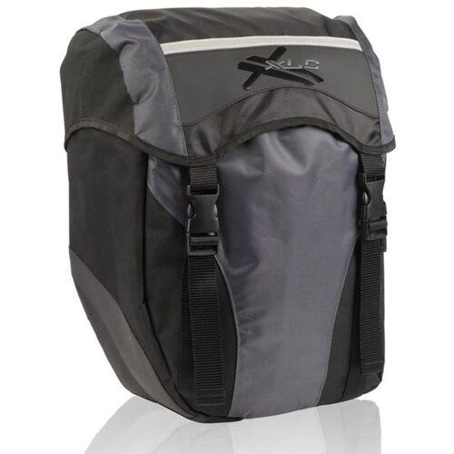 XLC Gepäckträgertasche »Einzeltaschenset« (Set, 2-tlg., 2er-Pack)