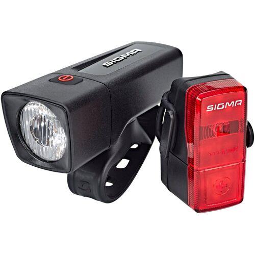 Sigma SPORT Fahrradbeleuchtung »Aura 25 Beleuchtungsset Cubic«