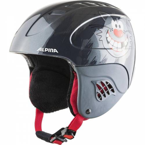 Alpina Sports Skihelm »Skihelm Carat naughty cat«