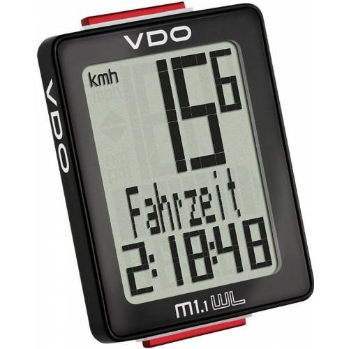 VDO Fahrradcomputer »M1.1 WL Fahrradcomputer«