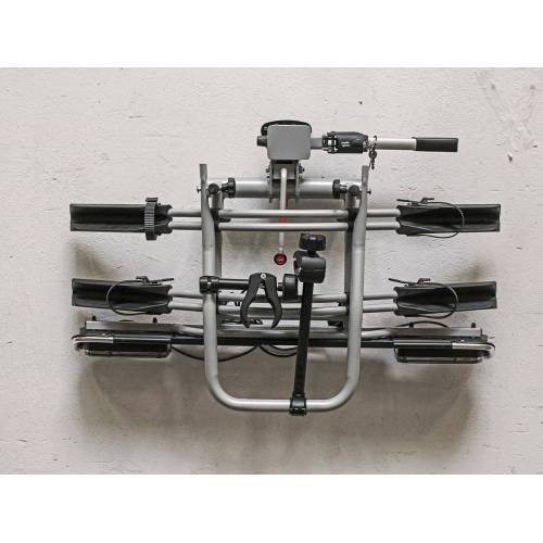EUFAB Wandhalter »16418«, für Fahrradträger, Inkl. Befestigungsmaterial, silberfarben