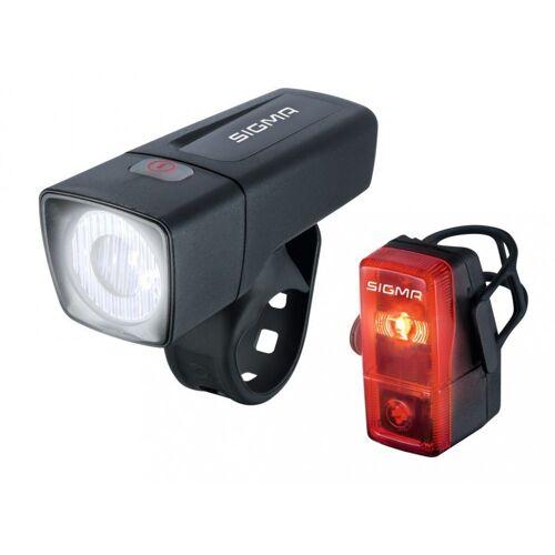 Sigma SPORT Fahrradbeleuchtung »Sigma Beleuchtungsset Aura 25 / Cubic«