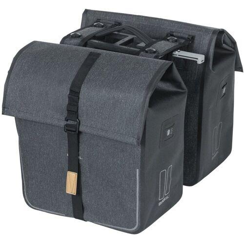Basil Gepäckträgertasche »Urban Dry Doppel-Gepäckträgertasche 50l mit MIK«