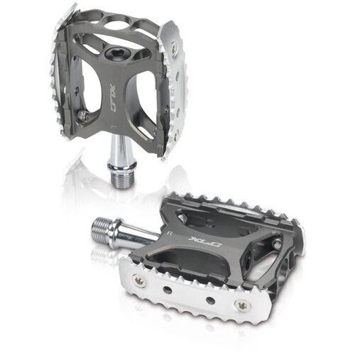 XLC Fahrradpedale »MTB/Trekking Pedal PD-M17«, anthrazit/silber