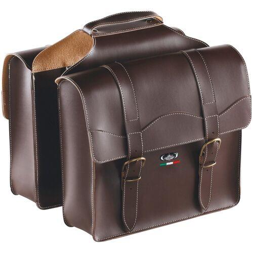KCP Gepäckträgertasche »BAULETTO 0024«, Doppeltasche, Leder