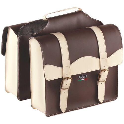 KCP Gepäckträgertasche »BAULETTO 0024/V«, Doppeltasche, Leder