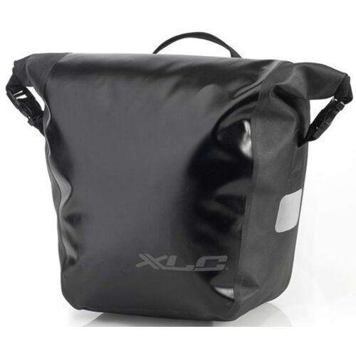 XLC Gepäckträgertasche »Einzeltaschenset-BA-W33« (2-tlg., 2er-Pack)