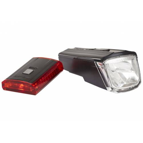 XLC Fahrradbeleuchtung »Comp CL-S16 Beleuchtungs Set Titania«