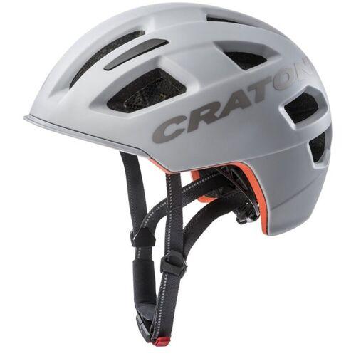 Cratoni Fahrradhelm »City-Fahrradhelm C-Pure«, grau matt   grau