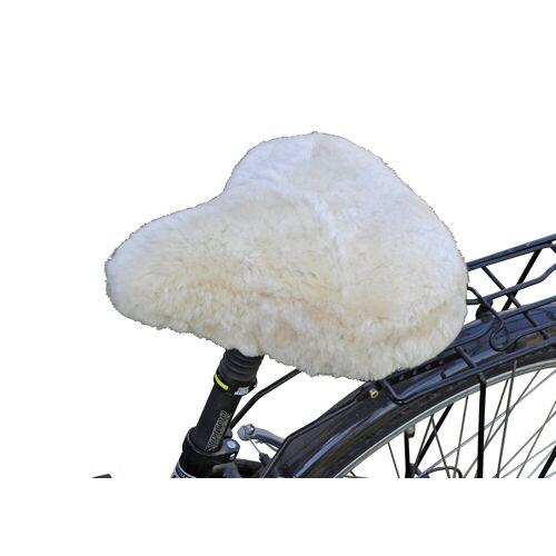 RÖKÜ-OTTO Fahrradsattelbezug »Lammfell Touren«, weiß