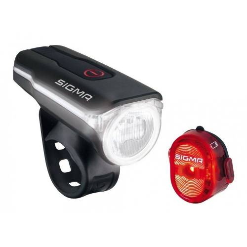 Sigma SPORT Fahrradbeleuchtung »Sigma Beleuchtungsset Aura 60 USB / Nugget II«