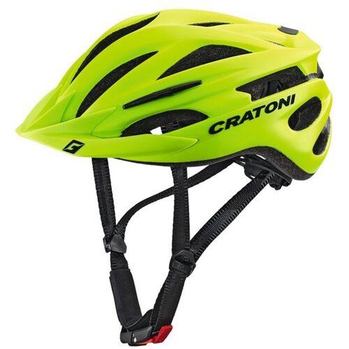 Cratoni Mountainbikehelm »MTB-Fahrradhelm Pacer«, lime matt   grün