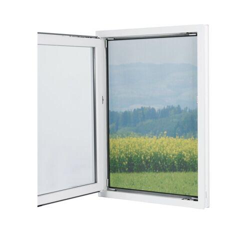 EASYmaxx Fenster-Moskitonetz, Magnetbefestigung 150x130cm