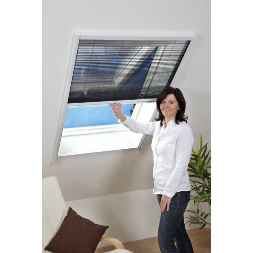 hecht international HECHT Insektenschutz-Dachfenster-Rollo weiß/anthrazit, BxH: 110x160 cm, anthrazit